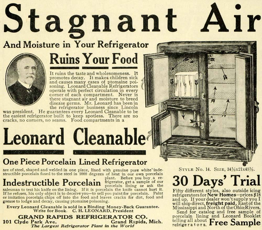 Leonard Cleanable Refrigerator 1913.JPG