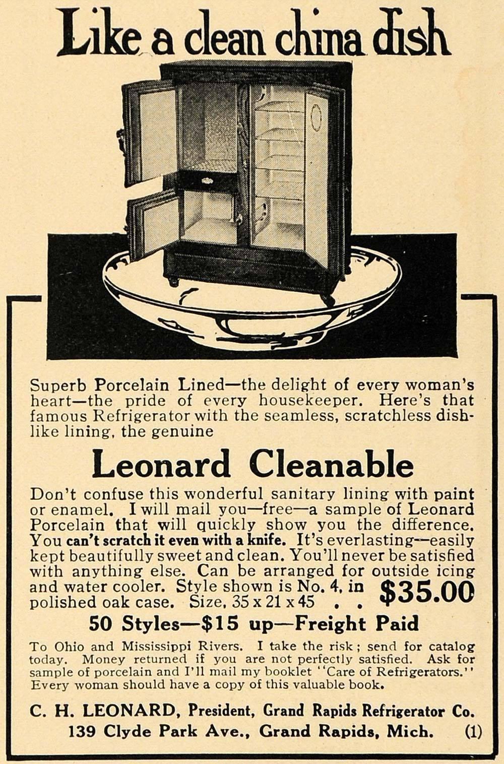 Leonard Cleanable Refrigerator 1914.JPG