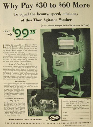 1930 Thor Agitator Washer Washing Machine Ad.jpg